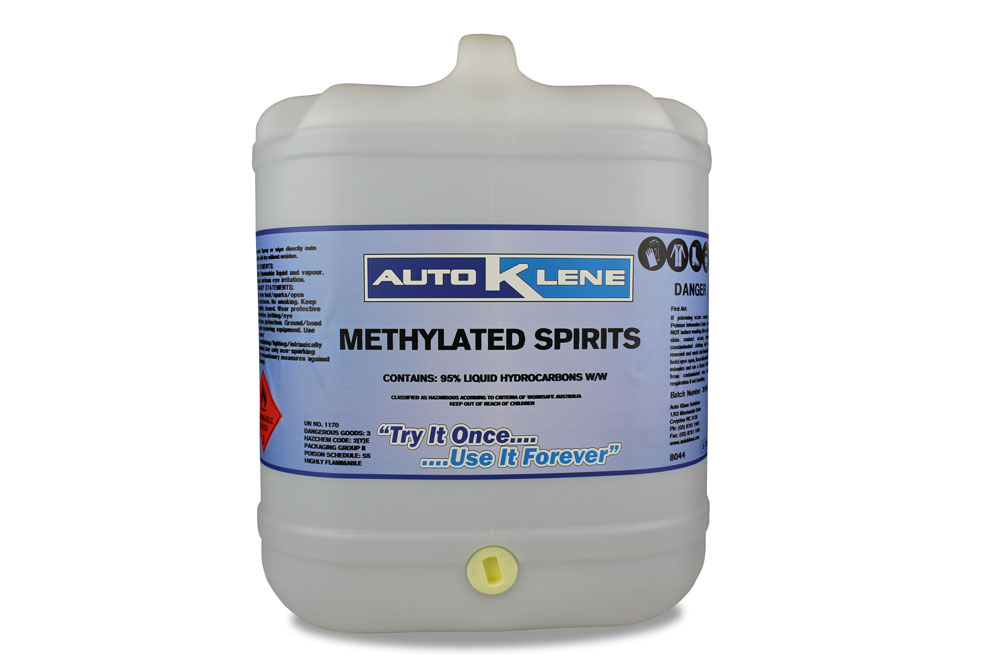 METHYLATED SPIRITS – AutoKlene