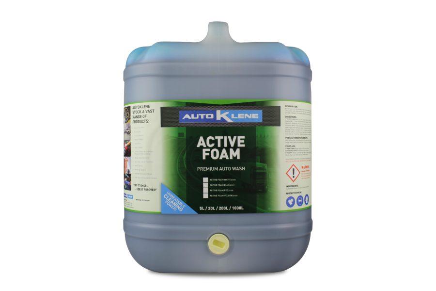 Active Foam Tri Colour Foam Brush - Blue Image