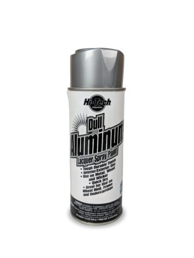 Hi-Tech Dull Aluminum Silver Alloy Spray Paint Image