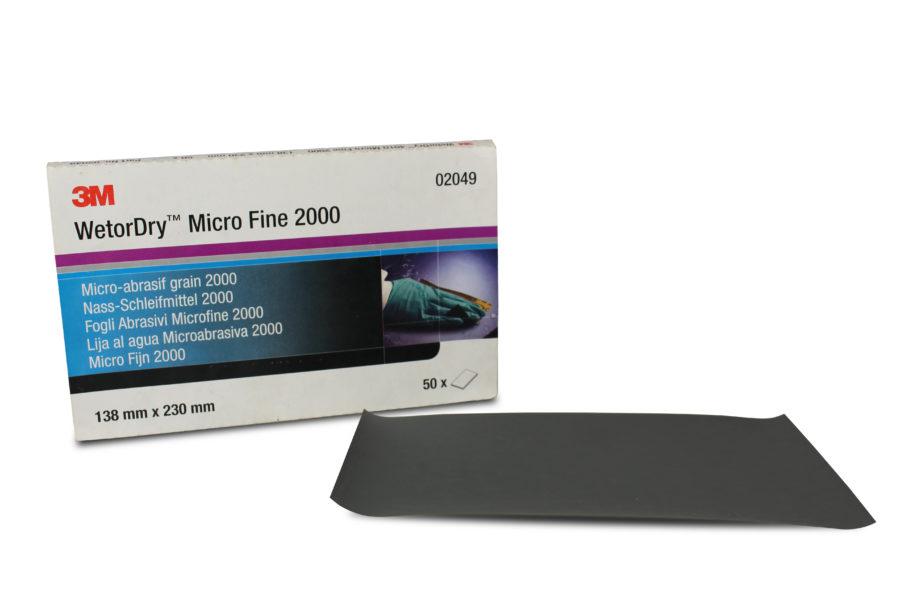 3M 2000 Grit Sandpaper Image