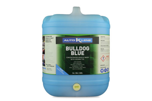 Bulldog Blue Truck Wash Image