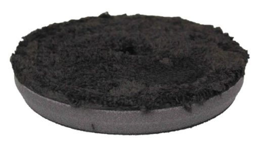 6.5″ Black Microfibre Finishing Pad Image