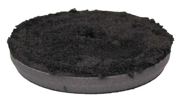 6.5″ Black Microfibre Finishing Pad Image