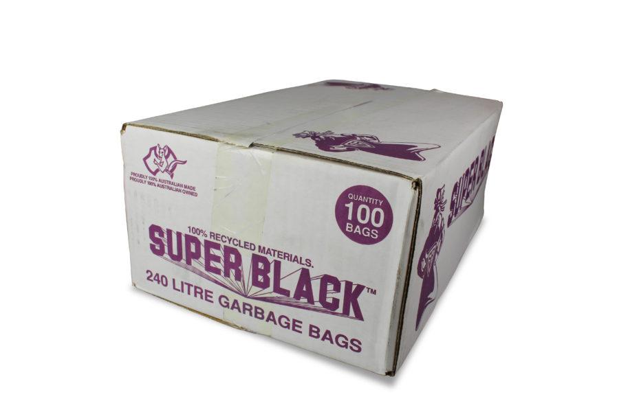 240Lt Super Black Bin Liners Image