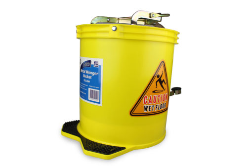 Mop Metal Wringer Bucket Yellow Image