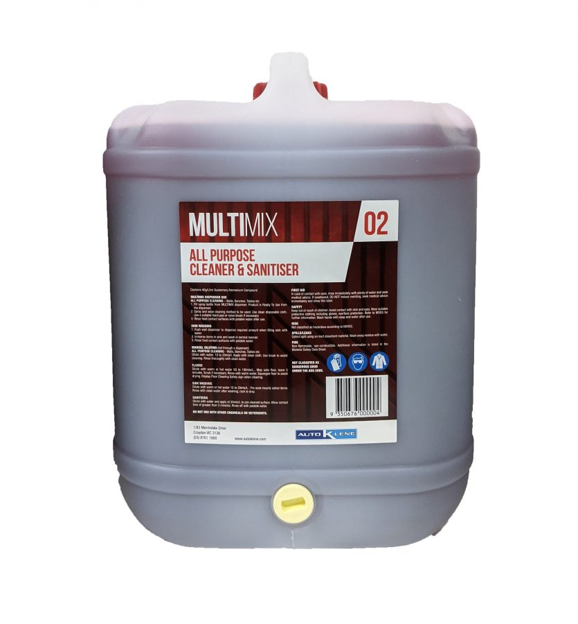 MultiMix 2 - Cleaner & Sanitiser Image