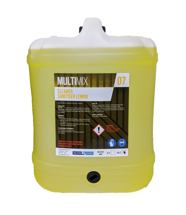 MultiMix 7 - Cleaner & Sanitiser (Lemon) Image
