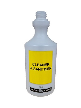 750mL Cleaner & Sanitiser Bottle Image