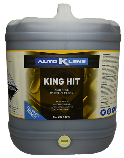King Hit - Non Acid Wheel Cleaner Image