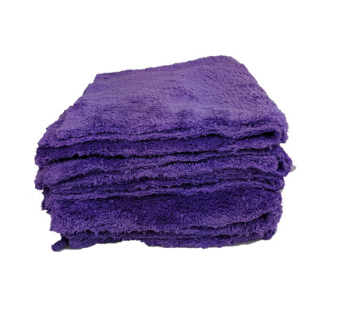 Purple Edgeless Microfibre - 5 Pack Image