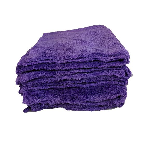 Purple Edgeless Microfibre - 5 Pack Image