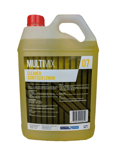 MultiMix 7 - Cleaner & Sanitiser (Lemon) - 5L Image