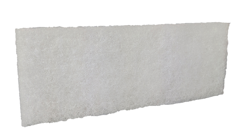 White Soft Scourer Pad Image